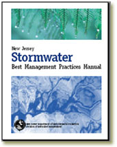 The New Jersey Stormwater Management manual can be used to help identify and solve problems related to stormwater runoff and erosion.